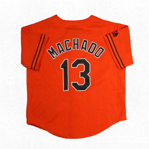Baltimore Orioles Manny Machado Majestic Child Alternate Replica Baseball Jersey