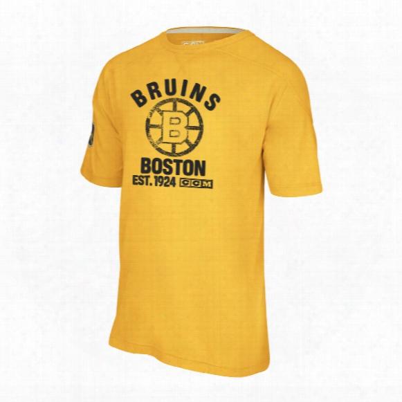 Boston Bruins Retro Applique T-shirt