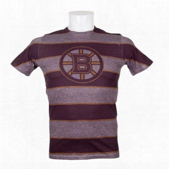Boston Bruins Three Color Stripe Fx Tee