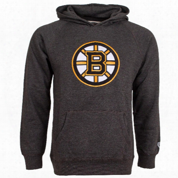 Boston Bruins Youth Powell Applique Logo Hoodie