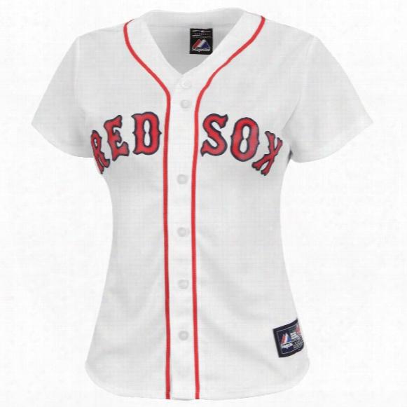 Boston Red Sox Women's Replica Home Mlb Baseball Jersey