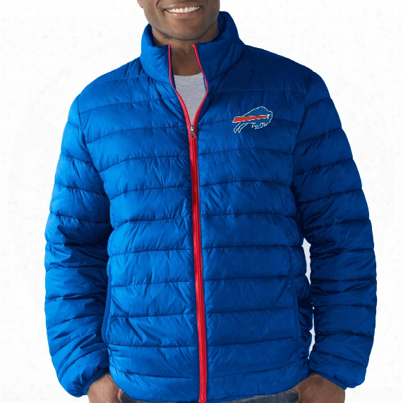 Buffalo Bills Packable Full Zip  Jacket