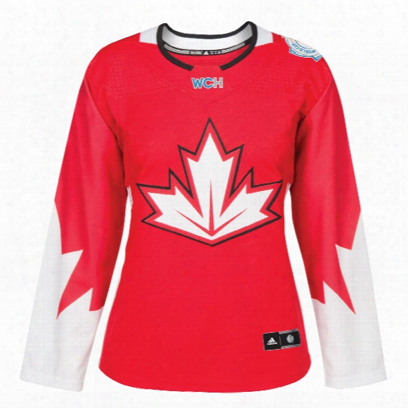 Canada Hockey 2016 World Cup Of Hockey Women's Premier Replica Red Jersey