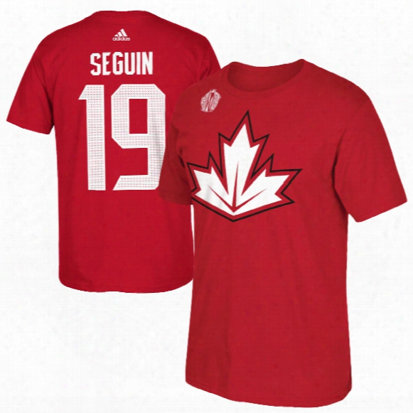 Canada Tyler Seguin 2016 World Cup Of Hockey Player Name & Number T-shirt