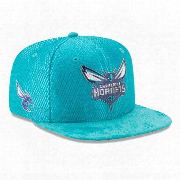 Charlotte Hornets New Era Nba 2017 On Court Collection Draft 9fifty Snapback Cap