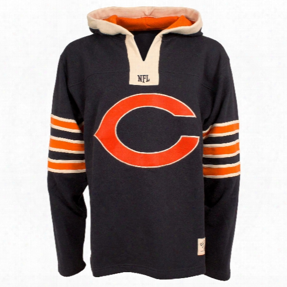 Chicago Bears Nfl Option Heavyweight Hoodie