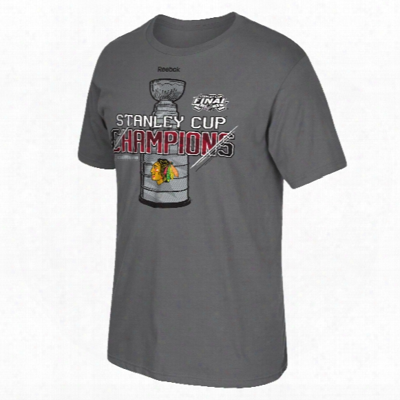 Chicago Blackhawks 2015 Stanley Cup Champs Locker Room Elite T-shirt