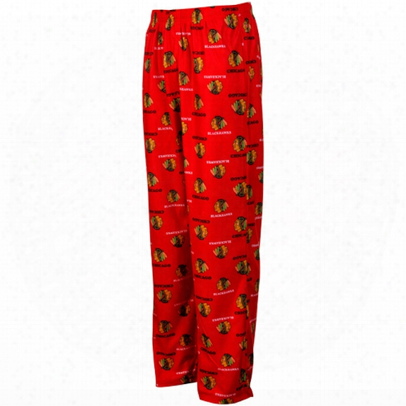 Chicago Blackhawks Youth Flannel Sleeper Pants