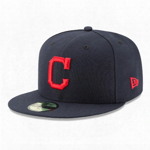 Cleveland Indians 2017 59fifty Authentic Fitted Performance Road Mlb Baseball