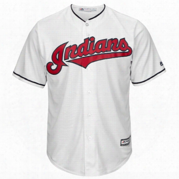 Cleveland Indians 2017 Cool Base Replica Home Mlb Baseball Jersey