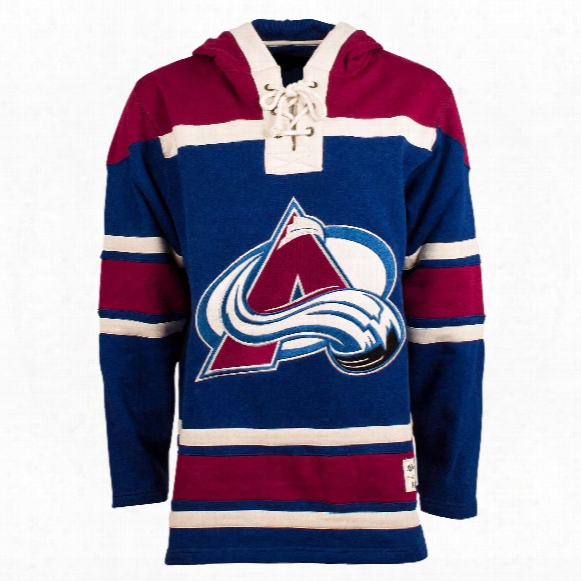 Colorado Avalanche Heavyweight Jersey Alternate Lacer Hoodie