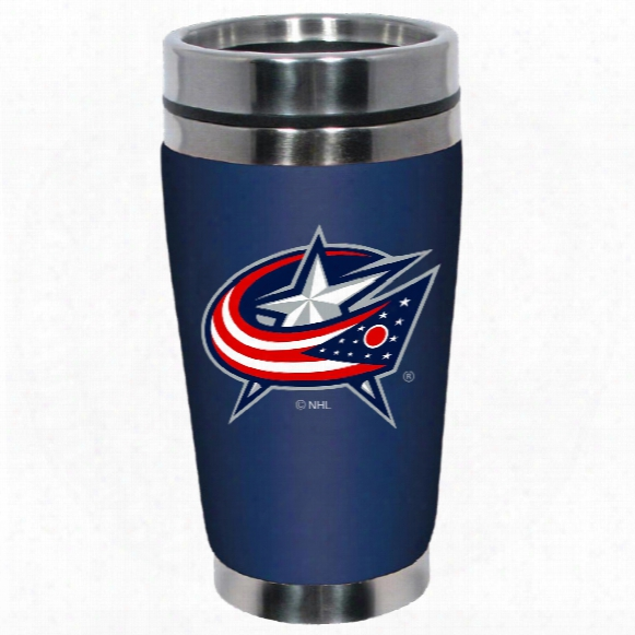 Columbus Blue Jackets Mugzie Neoprene 16 Oz. Tumbler