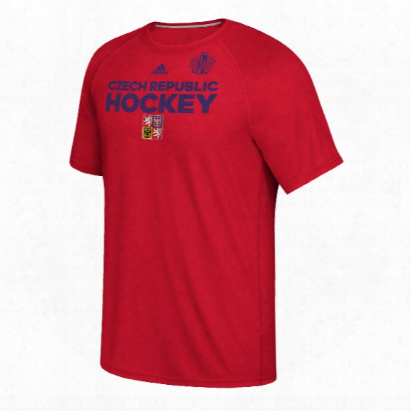 Czech Republic Hockey 2016 World Cup Of Hockey Team Font Go To T-shirt (red)