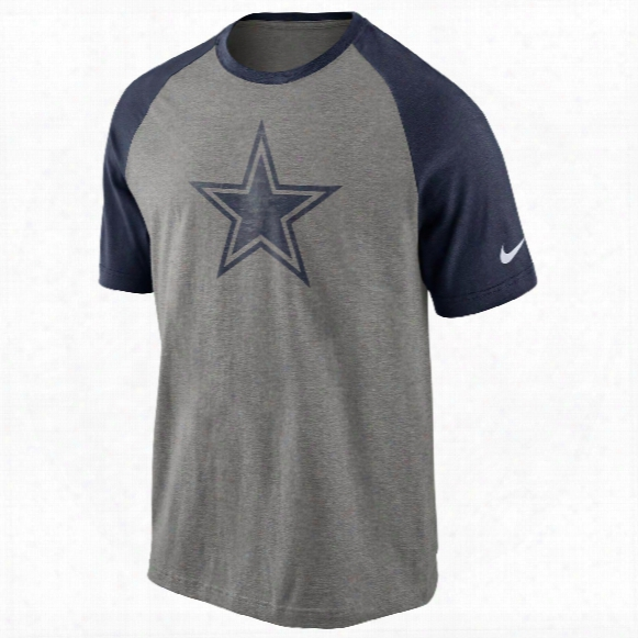 Dallas Cowboys Nfl Big Play Raglan T-shirt