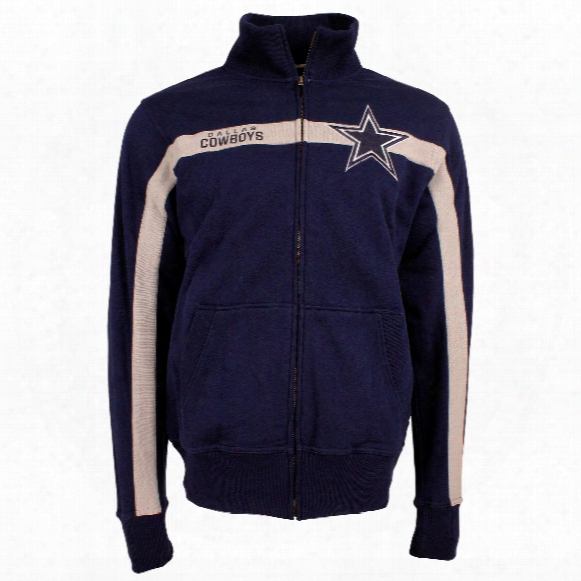 Dallas Cowboys Nfl Spike Full Zip Crew