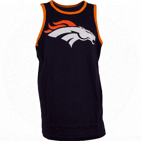 Denver Broncos Grind Team Color Tank Top