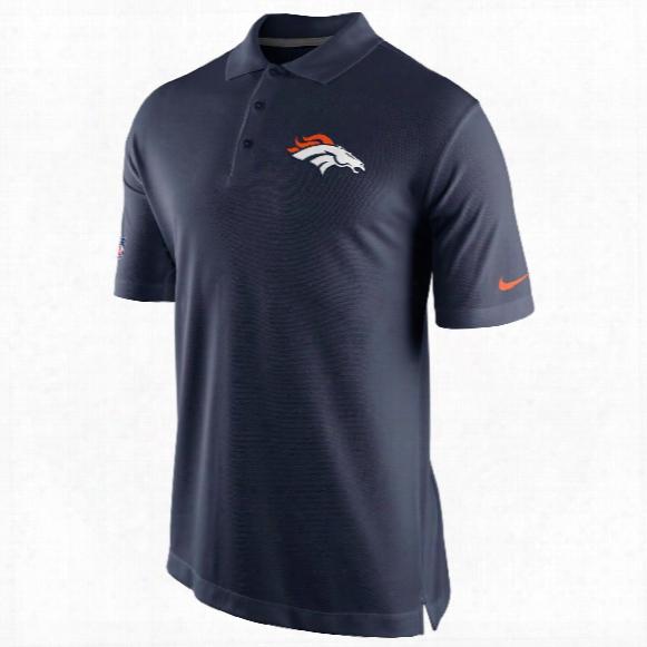 Denver Broncos Nfl Staff Dri-fit Polo