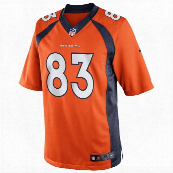 Denver Broncos Wes Welker Nfl Nike Limited Team Jersey