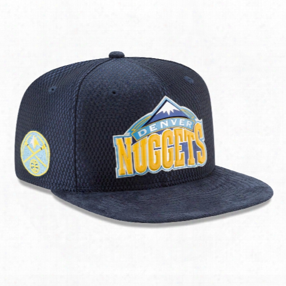 Denver Nuggets New Era Nba 2017 On Court Collection Draft 9fifty Snapback Cap