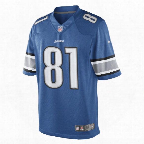 Detorit Lions Calvin Johnson Nfl Nike Limited Team Jersey