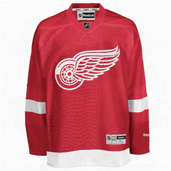 Detroit Red Wings Reebok Premier Replica Home Nhl Hockey Jersey