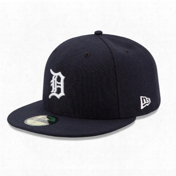 Detroit Tigers 2017 59fifty Authentic Fitted Performance Home Mlb Baseball Cap