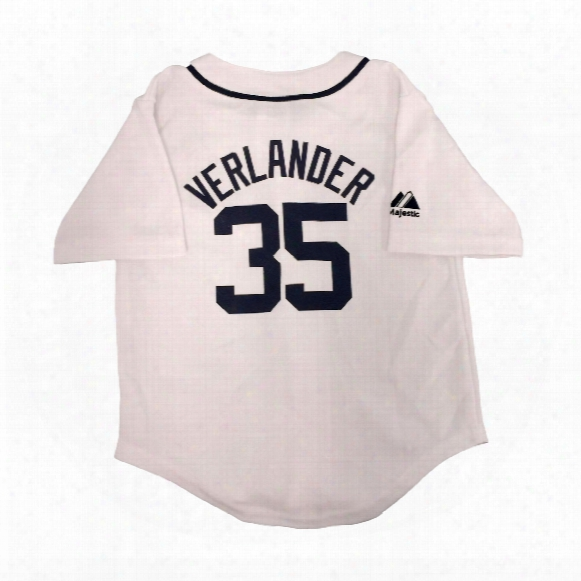 Detroit Tigers Justin Verlander Majestic Infant Home Replica Baseball Jersey