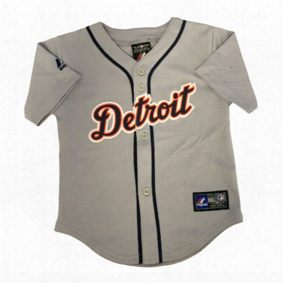 Detroit Tigers Majestic Infant Road Replica Baseball Jersey