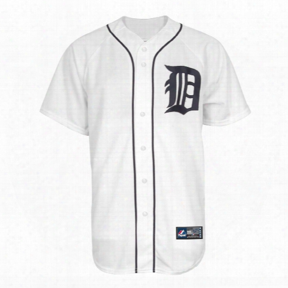 Detroit Tigers Youth Replica Home Mlb Baseball Jersey