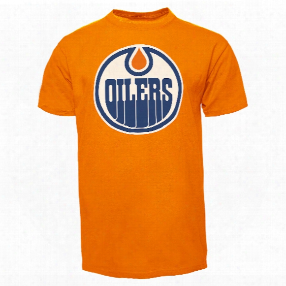 Edmonton Oilers Fan T-shirt (orange)