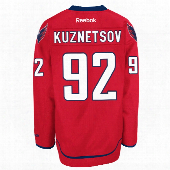 Evgeny Kuznetsov Washington Capitals Reebok Premier Replica Home Nhl Hockey
