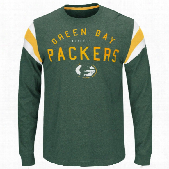 Green Bay Packers Showcase Classic Nfl Long Sleeve T-shirt