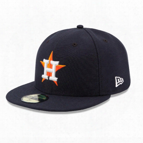 Houston Astros 2017 59fifty Authentic Fitted Performance Home Mlb Baseball Cap
