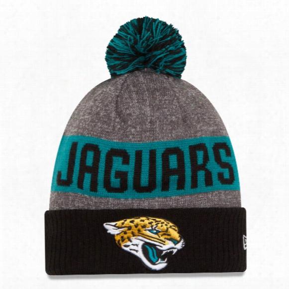 Jacksonville Jaguars New Era 2016 Nfl Official Sideline Sport Knit Hat