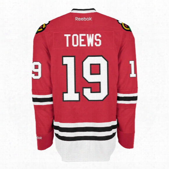 Jonathan Toews Chicago Blackhawks Reebok Premier Replica Home Nhl Hockey Jersey