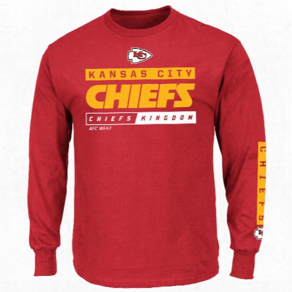 Kansas City Chiefs 2016 Primary Receiver Long Sleeve Nfl T-shirt