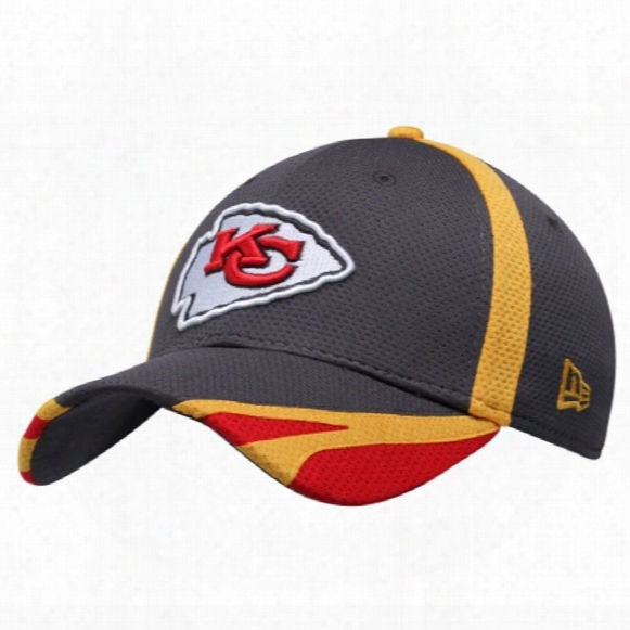 Kansas City Chiefs Nfl Graphite Training 39thirty Cap