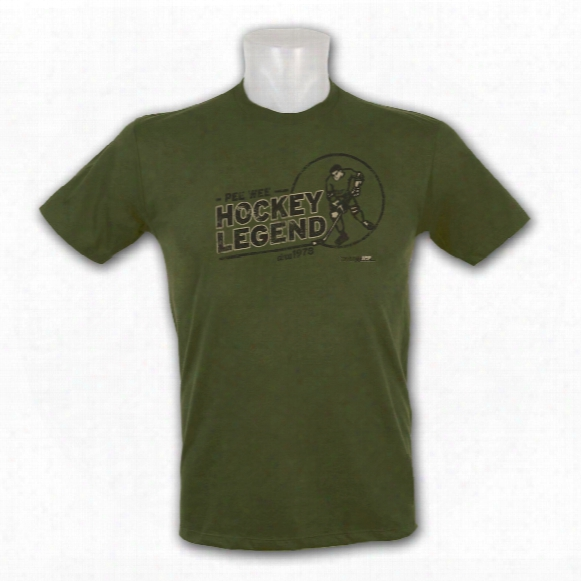Kractice Pee Wee Legend Fine Jersey Vintage T-shirt (military Green)