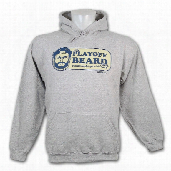 Kractice Playoff Beard Pullover Hoody (athletic Heather)