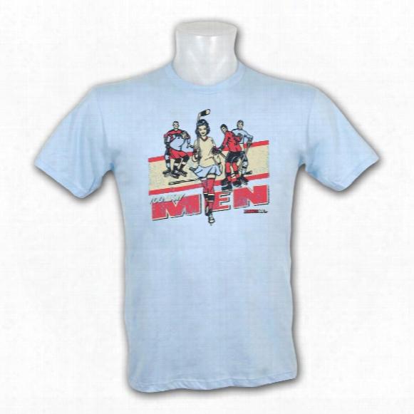 Kractice Too Many Men Fine Jersey Vintage T-shirt (columbia Blue)