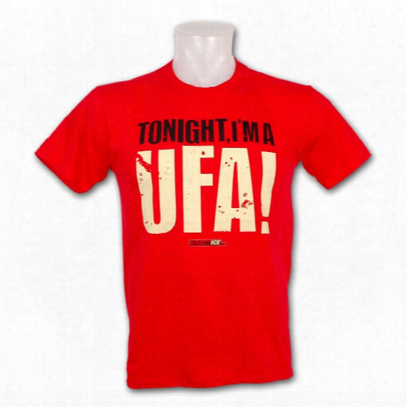 Kractice Ufa Fine Jersey Vintage T-shirt (red)