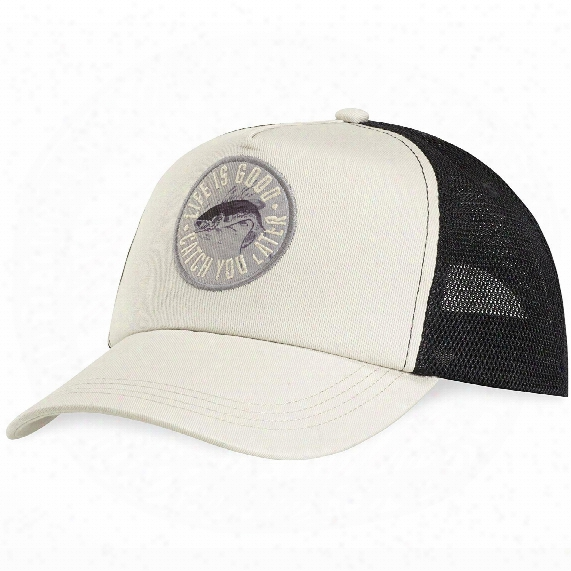 Life Is Good Catch You Later Mesh Back Chill Cap