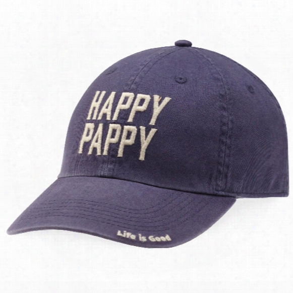 Life Is Good Happy Pappy Chill Cap