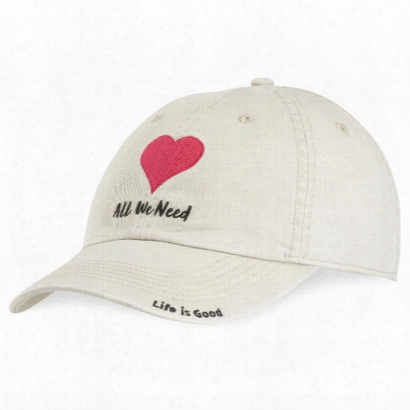 Life Is Good Heart Chill Cap