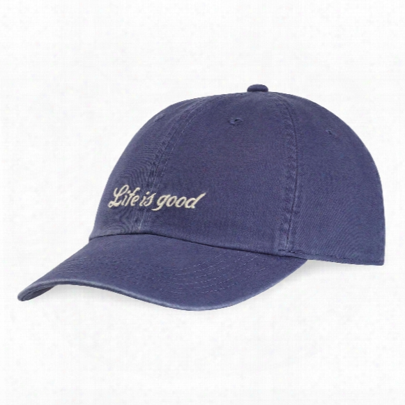 Life Is Good Lig Script Chill Cap