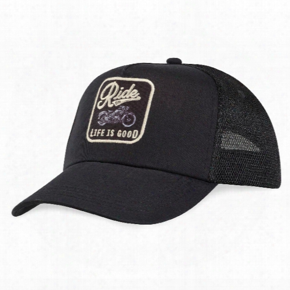 Life Is Good Ride On Patch Mesh Back Chill Cap