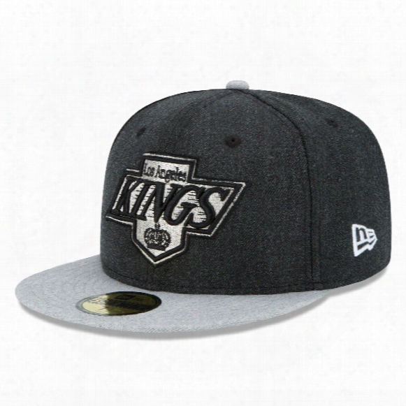 Los Angeles Kings Heather Action 59fifty Fitted Cap