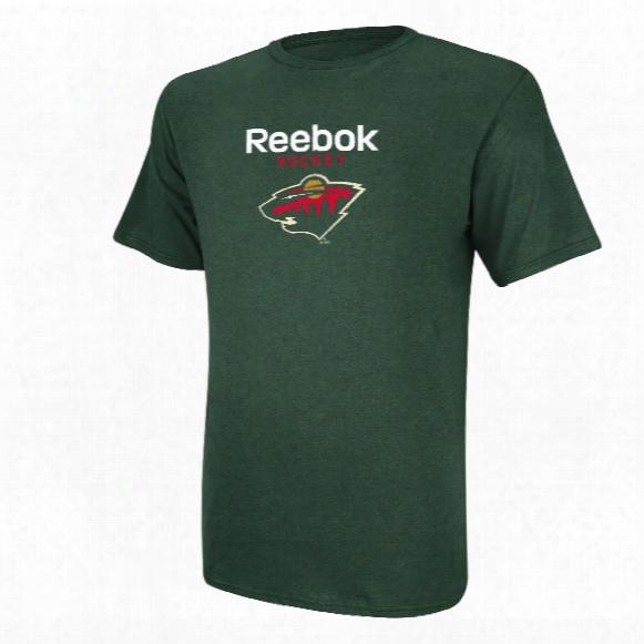 Minnesota Wild Reebok Hockey T-shirt