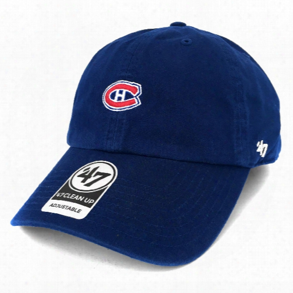 Montreal Canadiens Base Runner Micro Logo Clean Up Cap