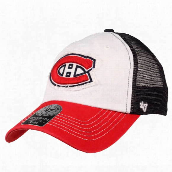 Montreal Canadiens Privateer Stretch Fit Cap